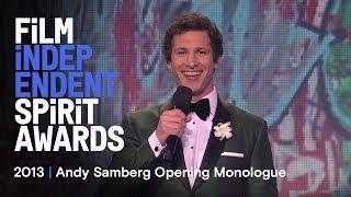 Andy Samberg Kicks Off the 2013 Spirit Awards