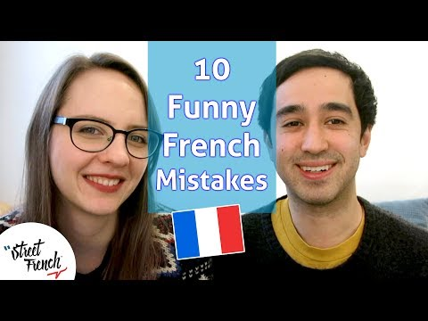 MOST EMBARRASSING MISTAKES IN FRENCH