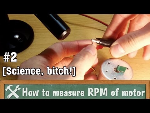 How to measure RPM of motor