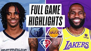 GRIZZLIES at LAKERS | FULL GAME HIGHLIGHTS | October 24, 2021