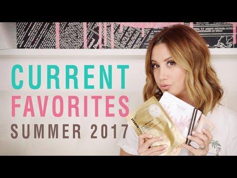Current Favorites | Summer 2017 | Ashley Tisdale