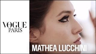 Les coulisses de la séance beauté de Mathea, la gagnante du concours Vogue Model   VOGUE PARIS