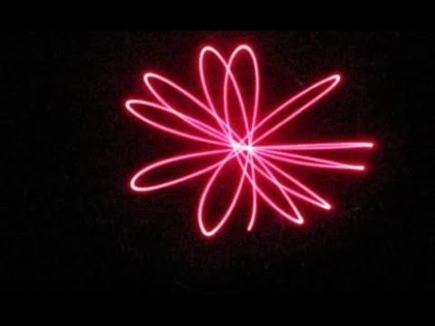 homemade laser light projection