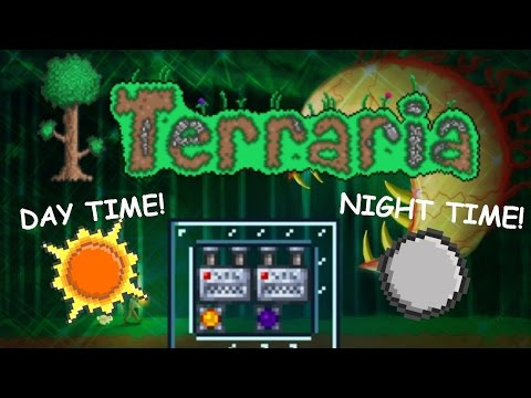 Terraria: Very useful Day/Night Machine your world must have (1080p60)