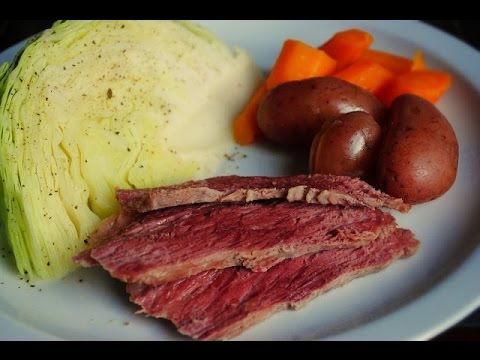 How to make Corned Beef Brisket with Boiled Vegetables