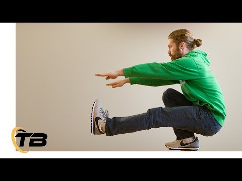 How to Pistol Squat - 4 Beginner Progression Steps - Tapp Brothers