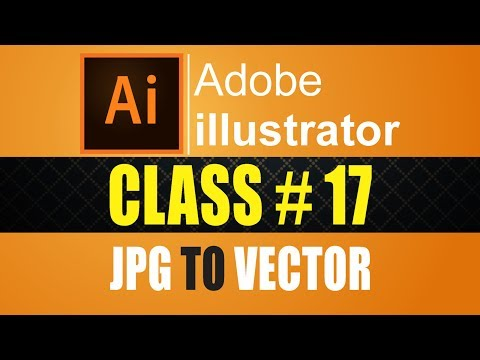 How to Trace Vector IN Adobe illustrator CC 2017 Experiment Course Part# 17 urdu - hindi