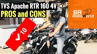 TVS Apache RTR 160 4V Second Service problems | RZA Vlogs