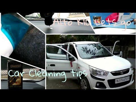 Car Interior Cleaning Tips || Alto k10 lets go || Full detailed cleaning