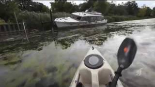 Kayaking on the Detroit River