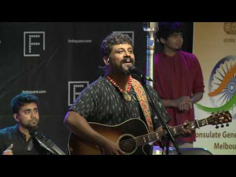 Confluence: Festival of India in Australia - The Raghu Dixit Project, Federation Square, Melbourne