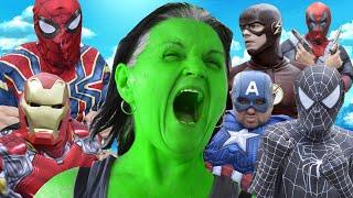 She-Hulk VS Superheroes