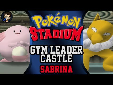 Pokémon Stadium - Gym Leader Castle | Sabrina |