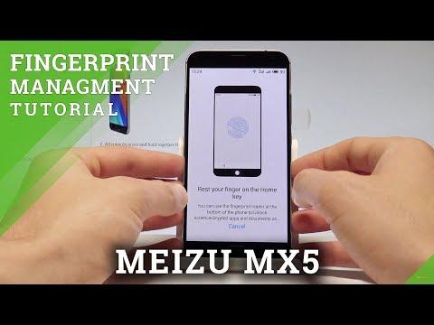 How to Add Fingerprint in MEIZU MX5 - Fingerprint Management |HardReset.Info