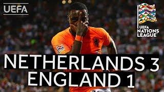 NETHERLANDS 3-1 ENGLAND #UNL FINALS HIGHLIGHTS