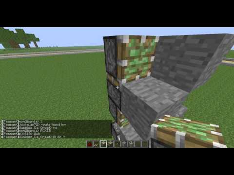 How to make a piston elevator 1.6.1 part 1/3