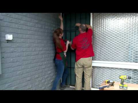 How To Install A Screen Door - D.I.Y. At Bunnings