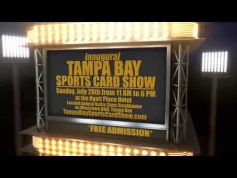 Tampa Bay Sports Card Show Baseball Card Show http://www.TampaBaySportsCardShow.com