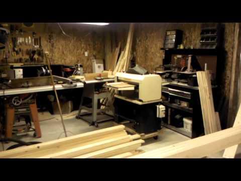 Woodmaster Molding machine Part 1
