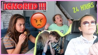 IGNORING OUR MOM FOR 24 HOURS | SISTER FOREVER