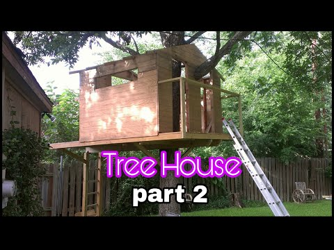 Tree house project  2