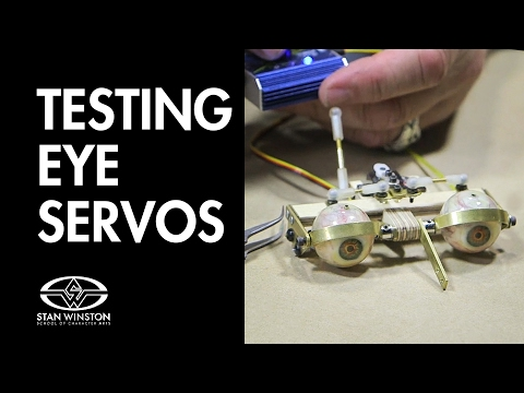 How to Build an Animatronic Head: Testing Eye Servos - FREE CHAPTER