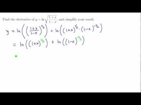 3. Natural logarithm 2