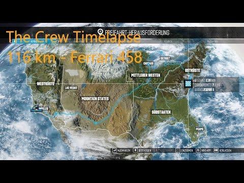 [1080p][60 FPS] The Crew Wild Run Timelapse - Across America