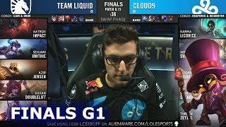Download TL vs C9 - Game 1 | Grand Finals S9 LCS Summer 2019 PlayOffs | Team Liquid vs Cloud 9 G1 Video