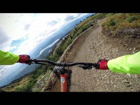 Whitefish Montana - Big Mountain - Downhill Mountain Biking