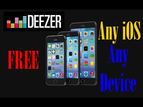 HOW To Get Deezer Premium for FREE Music on iPhone, iPod, iPad - works on All iOS