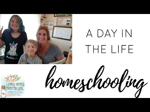 A  Day In The Life || Homeschooling Multipule Kids