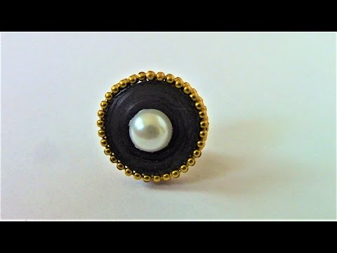How to Make Quilling Stud Earring for Beginners/Design 17/Tutorial