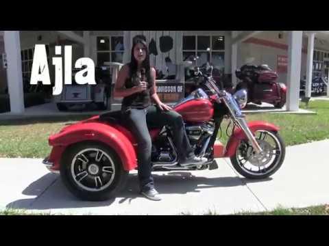 2017~2018 Laguna Orange Freewheeler Harley Davidson 3 Wheeler for sale Fl