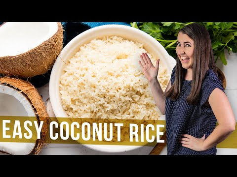 How to Make Easy Coconut Rice | The Stay At Home Chef