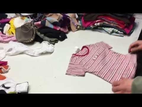 Secondhand clothes children