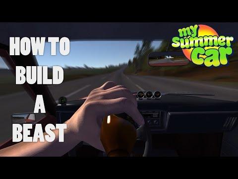 How to Build a SLEEPER - My Summer Car