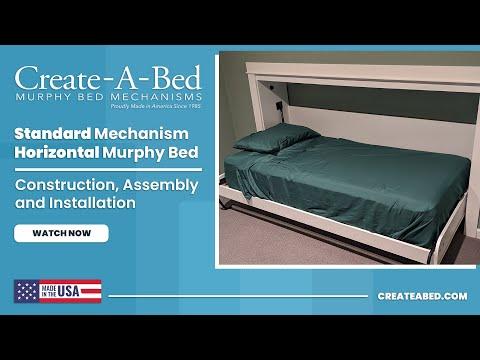 Murphy Bed Standard Horizontal Kit