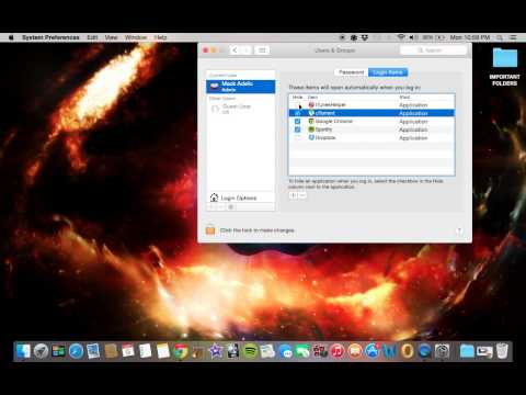 How to Stop Applications from Automatically Launching on Startup in OS X Yosemite