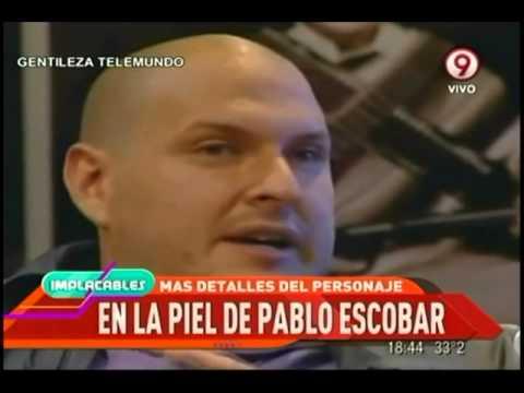 INFORMES IMPLACABLES:Andrés Parra y su desafío actoral para lograr el personaje de Pablo Escobar
