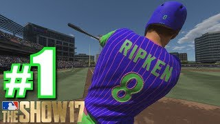 FIRST GAME OF BATTLE ROYALE!   MLB The Show 17   Battle Royale #1