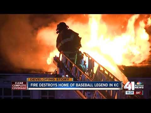 Fire destroys home of baseball legend Satchel Paige
