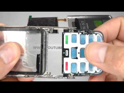 Nokia C3-01 Disassemble -  Replace Screen / Change the LCD or Digitizer (touch screen)