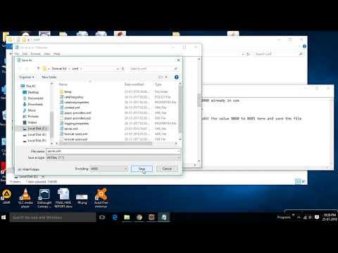 Java -Tomcat Server Error 8080