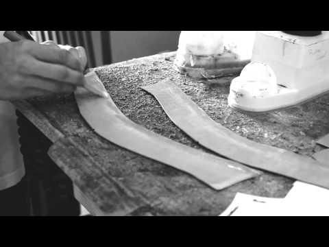 Hand Making Sneakers - A Process Video by JBF