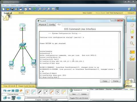 Packet Tracer - DHCP Setup