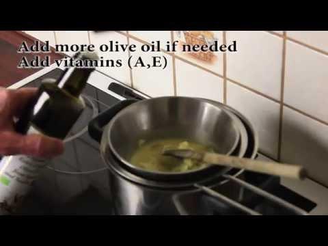DIY Homemade Beeswax Lotion