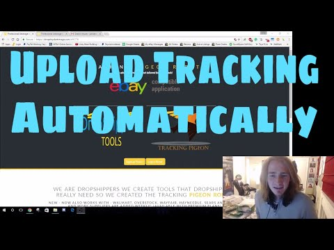 Drop Shipping eBay - Automatically Upload Tracking Numbers with Tracking Pigeon Robot - Episode 5