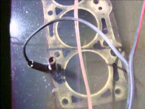Engine Block Rust Removal with Electrolysis Part 1
