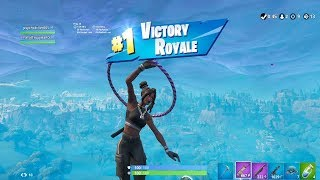 """FORTNITE First Win with BLACK """"LUXE"""" SKIN (TIER 100 """"24K"""" OUTFIT) 